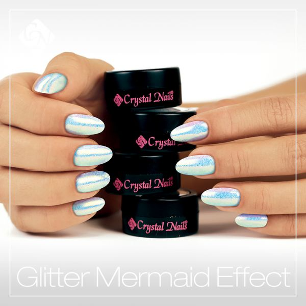Mermaid Effects - Crystalnails.bg
