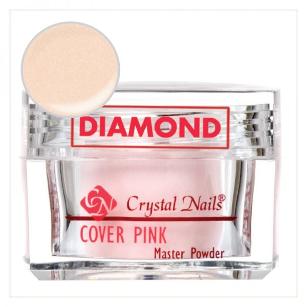 Cover Pink DIAMOND 17g - Crystalnails.bg