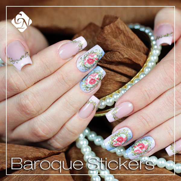 Baroque Stickers - Crystalnails.bg